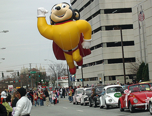 USA Parade - Mighty Mouse